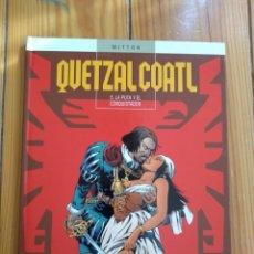 Cómics: QUETZALCOATL T 5: LA PUTA Y EL CONQUISTADOR - D2. Lote 212959045