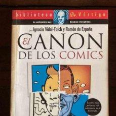 Comics: EL CANON DE LOS CÓMICS. BIBLIOTECA DR. VÉRTIGO. Lote 213939096