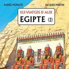 Cómics: ELS VIATGES D'ALIX EGIPTE 2 (RAFAEL MORALES / JACQUES MARTIN) GLENAT (EN CATALAN) CARTONE - SUB00MR. Lote 213966945
