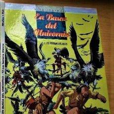 Cómics: EN BUSCA DEL UNICORNIO. LOS HERREROS BLANCOS. ANA MIRALLES-EMILIO RUIZ ESTÁ PARA RECOGER EN MURCIA. Lote 214262888