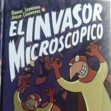 Cómics: EL INVASOR MICROSCOPICO. Lote 214763696