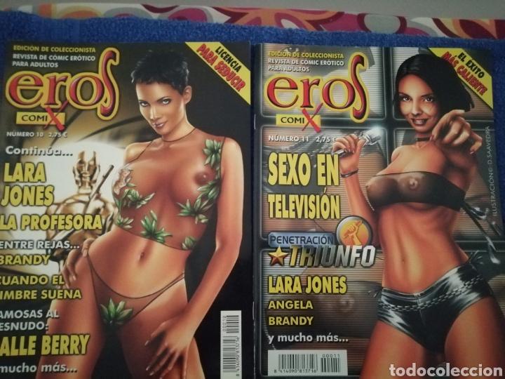 LOTE DE 2 NUMEROS DE EROS COMIX NUMEROS 10 Y 11 (Tebeos y Comics - Glénat - Serie Erótica)