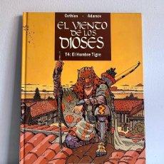 Cómics: EL VIENTO DE LOS DIOSES VOLUMEN 4: EL HOMBRE TIGRE. Lote 215485251