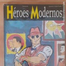 Comics: HÉROES MODERNOS - GALLARDO - GLÉNAT - TAPA DURA, COMO NUEVO. Lote 216020033