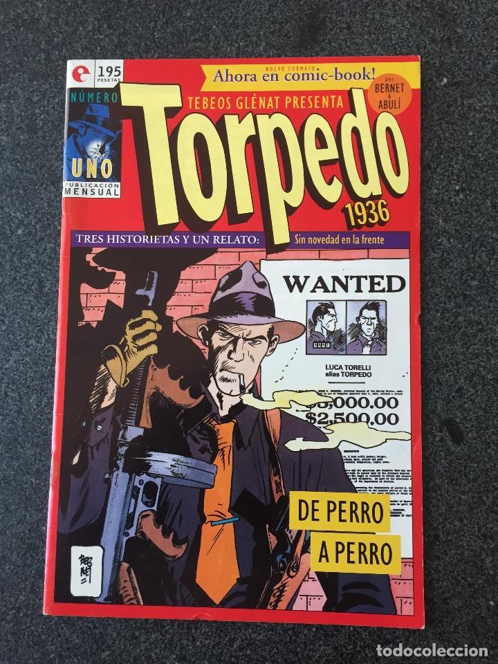 TORPEDO 1936 Nº 1 - BERNET / ABULÍ - COMIC-BOOK - GLENAT - 1994 - ¡NUEVO! (Tebeos y Comics - Glénat - Autores Españoles)
