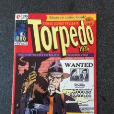 Cómics: TORPEDO 1936 Nº 1 - BERNET / ABULÍ - COMIC-BOOK - GLENAT - 1994 - ¡NUEVO!. Lote 216979343