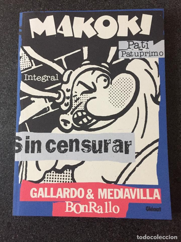 MAKOKI INTEGRAL - GALLARDO / MEDIAVILLA / BONRALLO - 1ª EDICIÓN - GLENAT - 2002 - ¡NUEVO! (Tebeos y Comics - Glénat - Autores Españoles)