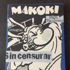 Cómics: MAKOKI INTEGRAL - GALLARDO / MEDIAVILLA / BONRALLO - 1ª EDICIÓN - GLENAT - 2002 - ¡NUEVO!. Lote 217045776