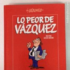 Fumetti: LO PEOR DE VÁZQUEZ EDICIONES GLENAT 2010. Lote 217187542