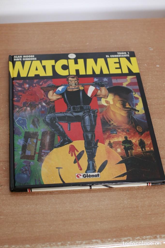 WATCHMEN - ALAN MOORE - TOMO 1 DE 3 (Tebeos y Comics - Glénat - Comic USA)