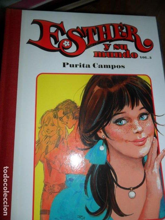 ESTHER Y SU MUNDO, VOL. 3, PURITA CAMPOS, ED. GLENAT (Tebeos y Comics - Glénat - Autores Españoles)