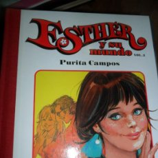 Cómics: ESTHER Y SU MUNDO, VOL. 3, PURITA CAMPOS, ED. GLENAT. Lote 217511702
