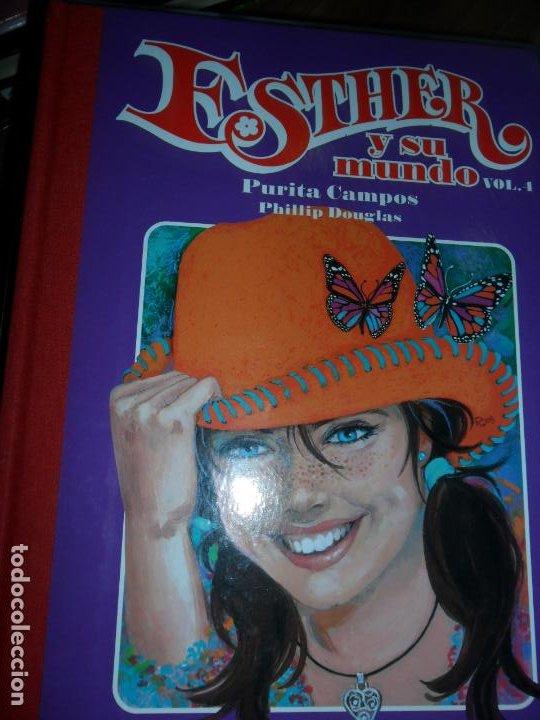 ESTHER Y SU MUNDO, VOL. 4, PURITA CAMPOS, ED. GLENAT (Tebeos y Comics - Glénat - Autores Españoles)