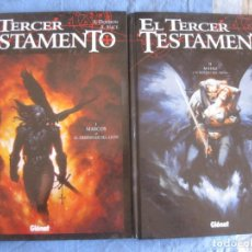 Cómics: EL TERCER TESTAMENTO TOMO I MARCO Y TOMO II MATEO. GLENAT 1997.. Lote 217613317