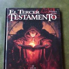 Cómics: TERCER TESTAMENTO - TOMO III. Lote 217691505