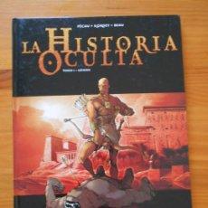 Cómics: LA HISTORIA OCULTA TOMO I - TOMO 1 - GENESIS - PECAU + KORDEY + BEAU - GLENAT - TAPA DURA (X1). Lote 217882277