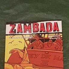 Cómics: COL. VIÑETAS NEGRAS Nº 18 ZAMBADA TOMO 3 PELIGRO EN ZAMBADA - GLENAT 2006. Lote 217913530