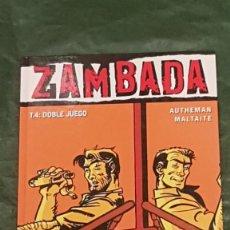 Cómics: COL. VIÑETAS NEGRAS Nº 23 ZAMBADA TOMO 4 DOBLE JUEGO - GLENAT 2006. Lote 217913570
