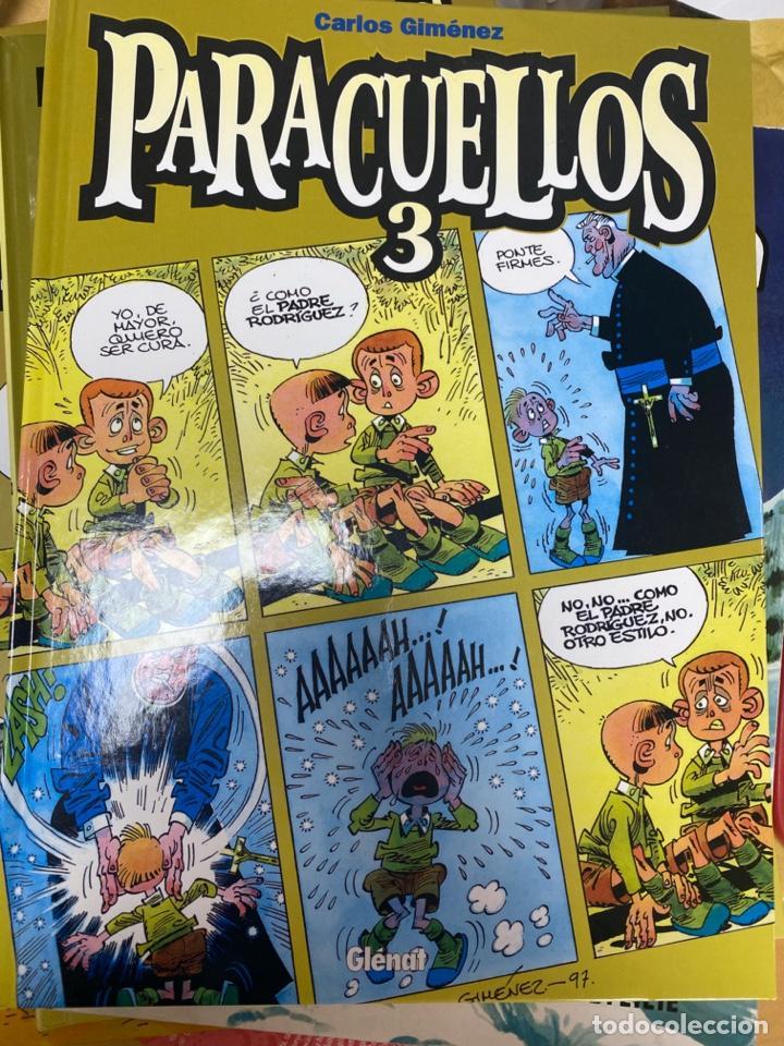 PARACUELLOS 3. CARLOS GIMENEZ. GLENAT. TAPA DURA. 64 PÁG. FOLIO (Tebeos y Comics - Glénat - Autores Españoles)