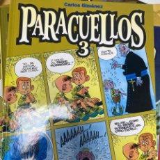 Cómics: PARACUELLOS 3. CARLOS GIMENEZ. GLENAT. TAPA DURA. 64 PÁG. FOLIO. Lote 218359625