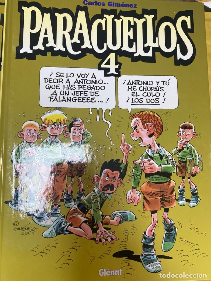 PARACUELLOS 4. CARLOS GIMENEZ. GLENAT. TAPA DURA. 64 PÁG. FOLIO (Tebeos y Comics - Glénat - Autores Españoles)