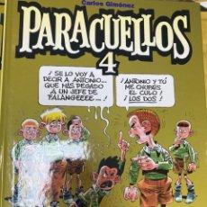 Cómics: PARACUELLOS 4. CARLOS GIMENEZ. GLENAT. TAPA DURA. 64 PÁG. FOLIO. Lote 218359667