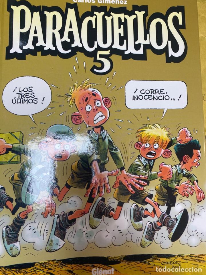 PARACUELLOS 5. CARLOS GIMENEZ. GLENAT. TAPA DURA. 64 PÁG. FOLIO (Tebeos y Comics - Glénat - Autores Españoles)