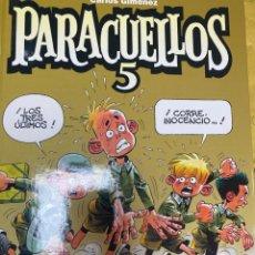 Cómics: PARACUELLOS 5. CARLOS GIMENEZ. GLENAT. TAPA DURA. 64 PÁG. FOLIO. Lote 218359716
