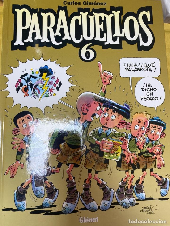 PARACUELLOS 6. CARLOS GIMENEZ. GLENAT. TAPA DURA. 64 PÁG. FOLIO (Tebeos y Comics - Glénat - Autores Españoles)