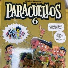 Cómics: PARACUELLOS 6. CARLOS GIMENEZ. GLENAT. TAPA DURA. 64 PÁG. FOLIO. Lote 218359738