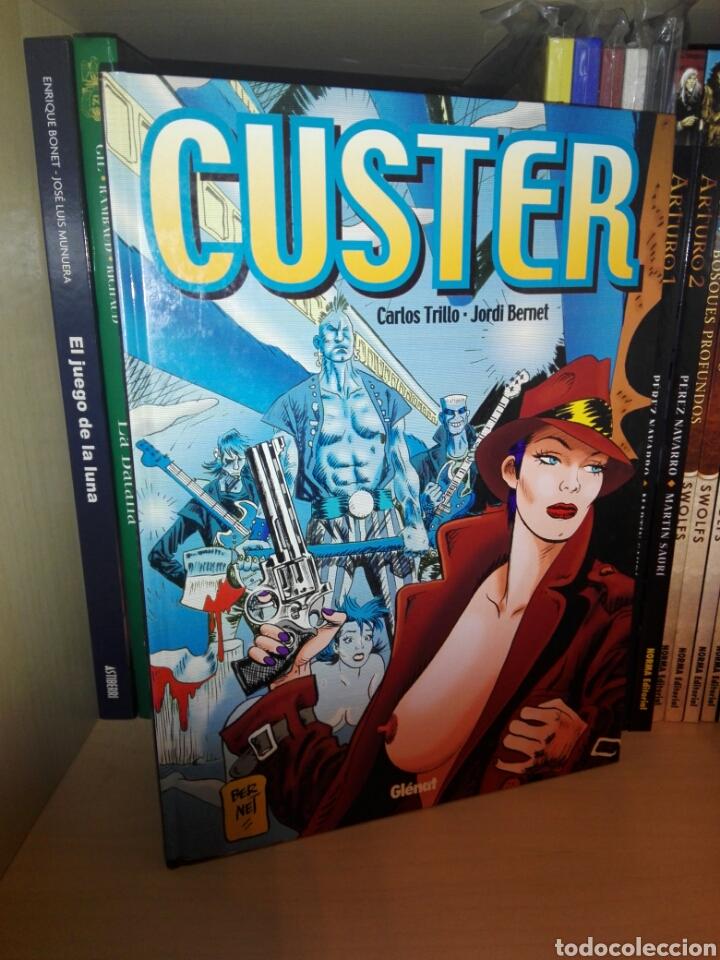 CUSTER TOMO GLENAT (Tebeos y Comics - Glénat - Autores Españoles)