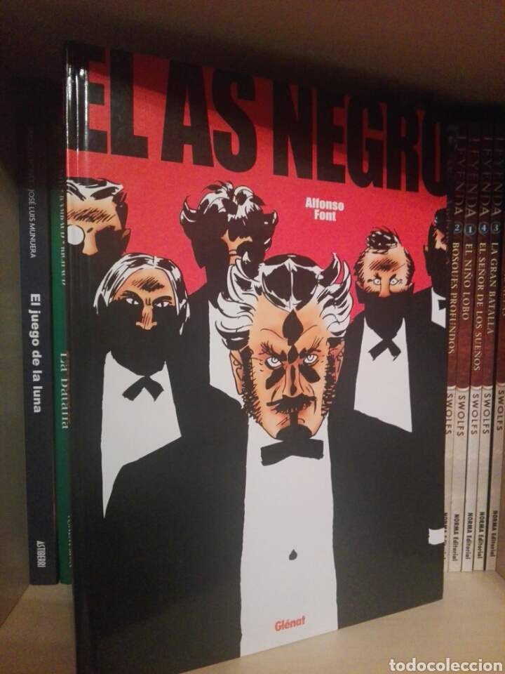 Cómics: El as negro tomo glenat - Foto 1 - 218627763
