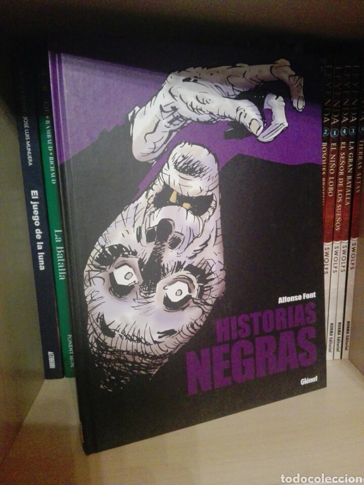 HISTORIAS NEGRAS TOMO GLENAT (Tebeos y Comics - Glénat - Autores Españoles)
