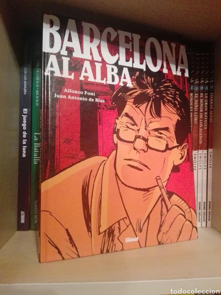 BARCELONA AL ALBA TOMO GLENAT (Tebeos y Comics - Glénat - Autores Españoles)
