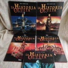 Cómics: LA HISTORIA OCULTA, LOTE 5 TOMOS / PÉCAU, KORDEY & BEAU -EDITA: GLENAT. Lote 38634084