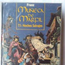 Cómics: MUÑECA DE MARFIL-1.NOCHES SALVAJES. Lote 218741667