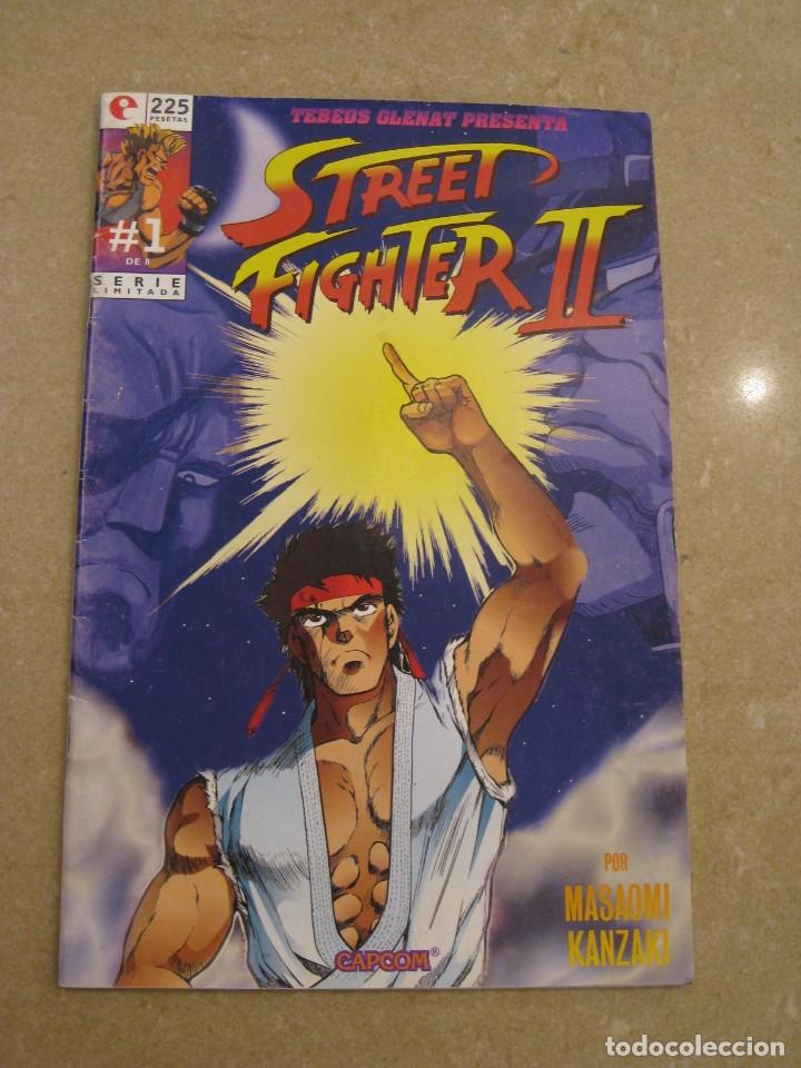STREET FIGTHER II. Nº 1. SERIE LIMITADA. (Tebeos y Comics - Glénat - Autores Españoles)
