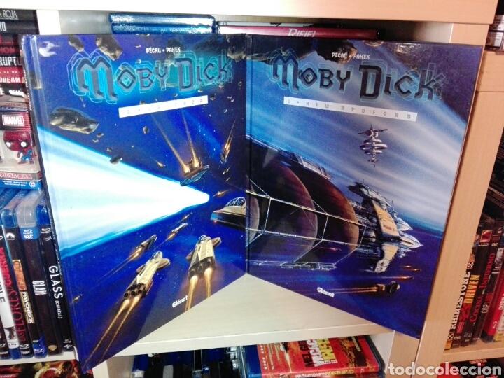 MOBY DICK COMPLETA 2 TOMOS GLENAT (Tebeos y Comics - Glénat - Comic USA)