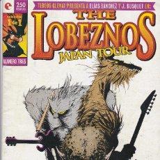 Cómics: THE LOBEZNOS JAPAN TOUR Nº 1 DE 1, DE ELÍAS SÁNCHEZ Y J. BUSQUET. EDITADO POR GLENAT AÑO 1997.. Lote 219406480