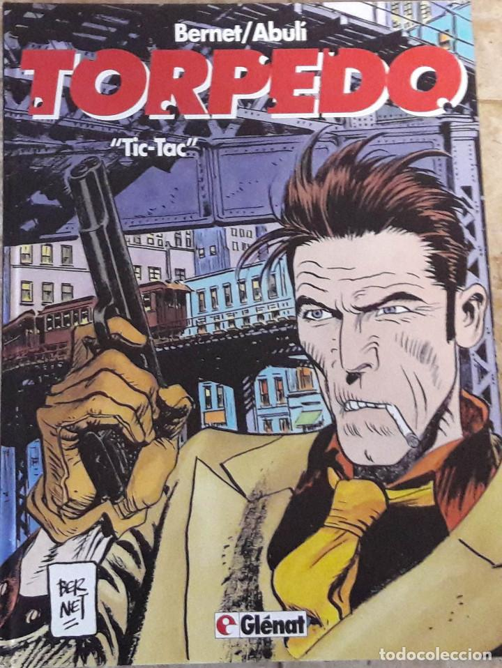 TORPEDO TIC TAC BERNET / ABULI. TAPA DURA. AÑOS 90. GLENANT (Tebeos y Comics - Glénat - Autores Españoles)