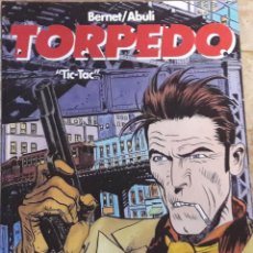 Comics: TORPEDO TIC TAC BERNET / ABULI. TAPA DURA. AÑOS 90. GLENANT. Lote 219583396
