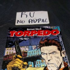 Cómics: TORPEDO TIC TAC TAPA DURA GLENAT BERNET ABULI. Lote 219730845