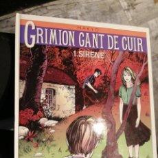 Cómics: GRIMION GANT DE CUIR 1.SIRENE GLENAT. Lote 220275198