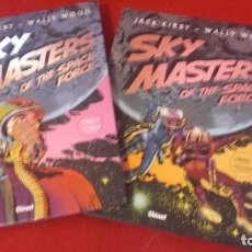 Cómics: LOTE SKY MASTERS OF THE SPACE FORCE - LIBROS 1 Y 2 - JACK KIRBY & WALLY WOOD - CARTONE. Lote 221450207