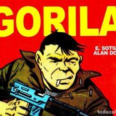 Comics: GORILA (EDT, 2013) DE ALAN DOYER Y EUGENIO SOTILLOS. TAPA DURA, 336 PÁGINAS. Lote 221836616