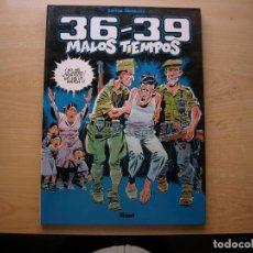 Cómics: 36 - 39 - MALOS TIEMPOS - TOMO 1 - TAPA DURA - GLENAT - NUEVO. Lote 222230658