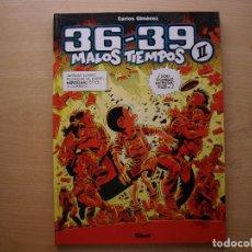 Cómics: 36 - 39 - MALOS TIEMPOS - TOMO 2 - TAPA DURA - GLENAT - NUEVO. Lote 222230701