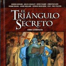 Cómics: EL TRIÁNGULO SECRETO OBRA COMPLETA (GLÉNAT, 2009) DE CONVARD Y OTROS. TAPA DURA. 350 PGS.. Lote 222384521