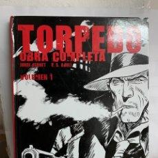 Cómics: TORPEDO OBRA COMPLETA. VOLUMEN I. JORDI BERNET Y P.S.ABULI. Lote 222437961