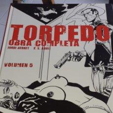Cómics: TORPEDO VOLUMEN 5 JORDI BENET E.S. ABULÍ GLÉNAT 2004 TAPAS DURAS. Lote 222543082